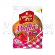 257 muffin moulin fraise
