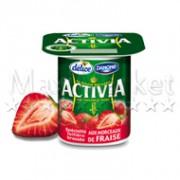 3 activia fraise