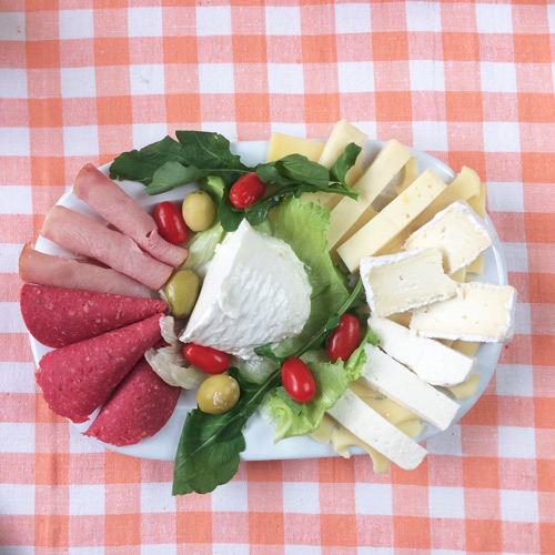 Fromage-charcuterie