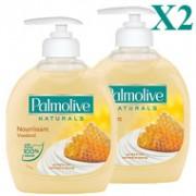 X2-Palmolive-Savon-Liquide-Miel-Lait-300ml